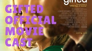 Gifted Official Movie Cast 2017 Chris Evans Jenny Slate latest movie
