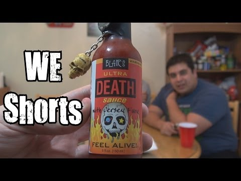 1100 WE Shorts - Blair's Ultra Death Sauce