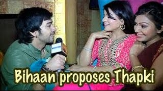 Thapki Pyar key-Bihaan And Thapki talk about upcoming twists and their love story..