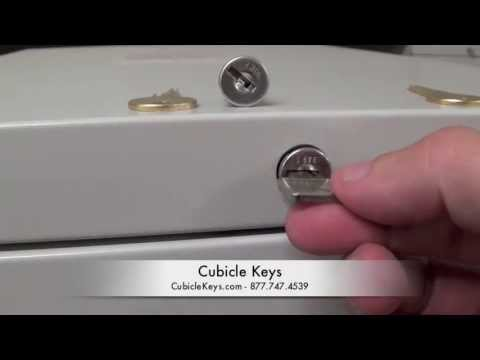 HON Lock Core Install, Removal, Replacement, Cubicle Keys