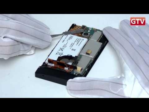 Sony Xperia P - как разобрать смартфон и его обзор