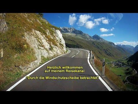 """Herzlich willkommen bei meinen Reisevideos """"Durch die Windschutzscheibe betrachtet""""!"""