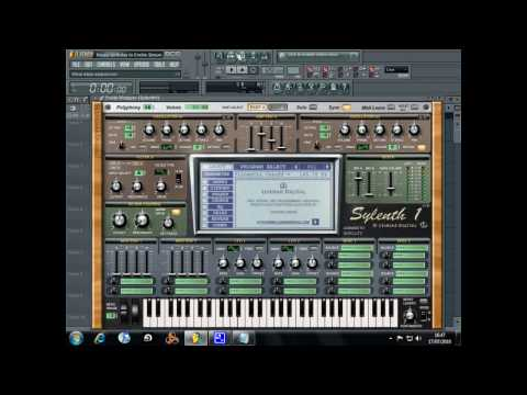 Deadmau5 Progressive house synth on sylenth1
