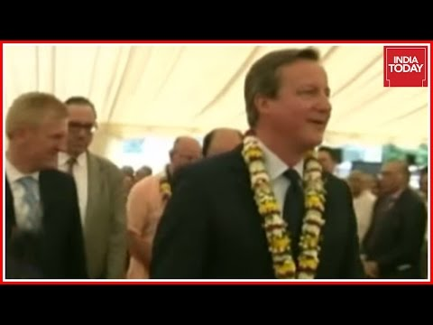 David Cameron Visits Iskcon Temple In U.K