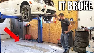 Everything Wrong With My Crazy Cheap C63 AMG + Revealing My $3,000 Headers & Exhaust!