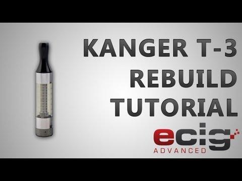 Kanger T3 rebuild tutorial