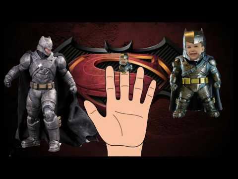Мисс Кэти и мистер Макс семья пальчиков Бэтмен против Супермена мультик на русском  для детей 2016