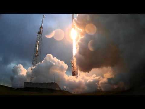 Orbital ATK Cygnus OA-4 Launch Remote Camera