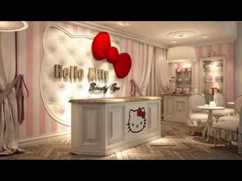 desain kamar tidur hello kitty youtube