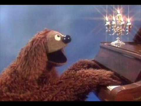 piano man cover by rowlf   youtube