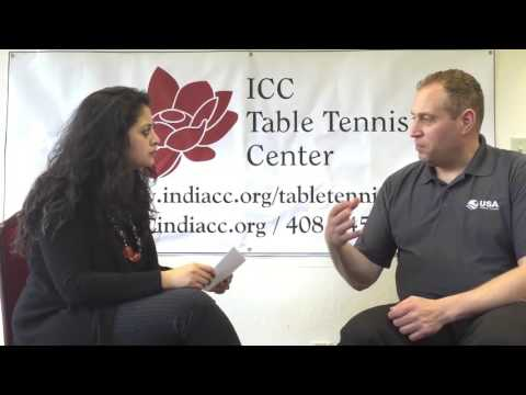 Q2 - Gordon Kaye, USATT CEO, Interview at ICC Table Tennis Center