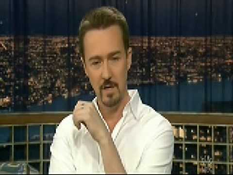 Edward Norton-Late Night