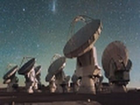 Star Space Observatory Telescopes: Ultra Modern Observatory Telescopes - Star Space - ESO 8