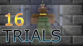 TRIALLED BY THE MASTERS (Minecraft 16 Jump Trials)