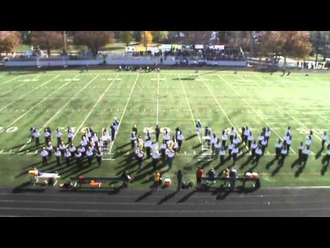 2013 Gaithersburg High School Marching Band Last Home Game Intro
