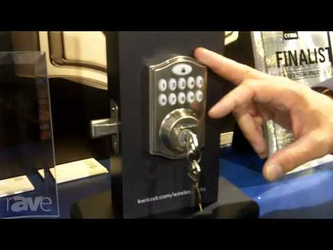 CEDIA 2013: Kwikset Shows Z-Wave Smartcode 14 Smart Door Lock with App Control