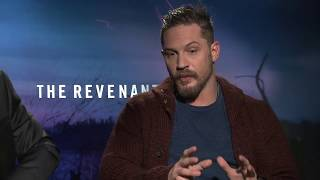 THE REVENANT Interviews: Leonardo DiCaprio, Tom Hardy, Domhnall Gleeson and Will Poulter