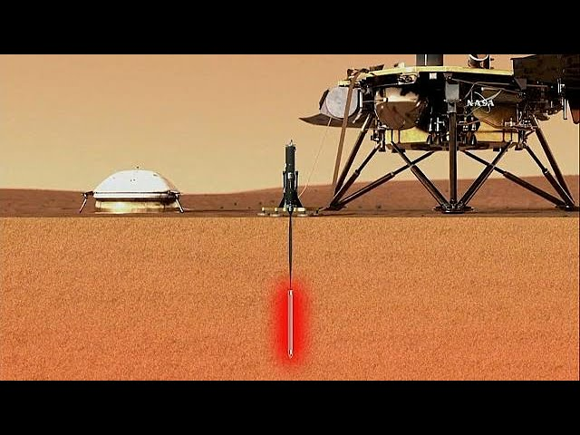 NASA launches mission to explore below Mars' surface