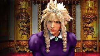 Final Fantasy VII - Cloud Cross Dressing Scene