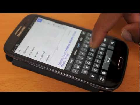 How To Delete Items From The Samsung Galaxy S3 Clipboard