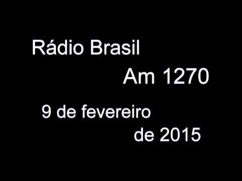 Francisco Salles na Radio Brasil AM 2015