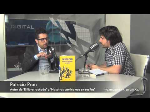 Patricio Pron, Autor De 'el Libro Tachado' Y 'nosotros Caminamos En Sueños'. 4-7-2014 video