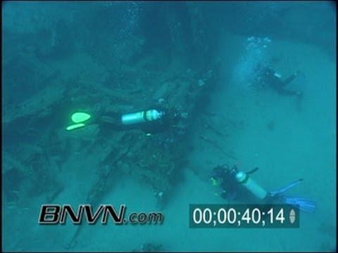 12/8/2001 Corridor Wrecks Dive Site Video, West Palm Beach, FL