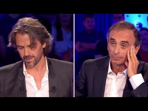 Image video On n'est pas couché : clash entre Aymeric Caron et Eric Zemmour