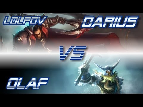 LoLPoV - Darius vs Olaf [Top] (League of Legends Live Commentary)