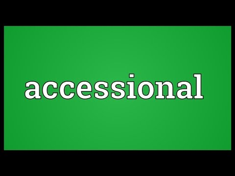 Header of Accessional