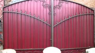 Металлопрофиль на ворота киев купить распашные ворота купить в пензе