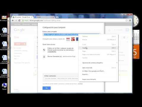 tutorial de google drive para adjuntar archivos a un blog