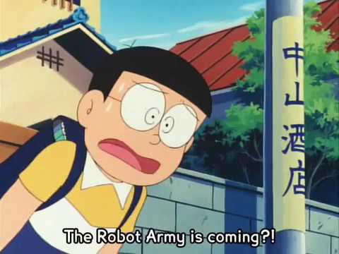 Doraemon The Movie 1986 Nobita And The Steel Troops Eng Sub Part 4 of 7 thumbnail
