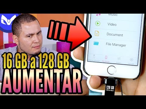 AUMENTO MEMORIA iPhone de 16GB a 128GB REAL ?