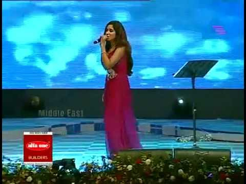Barso re-Shreya Ghoshal On Mathrubhoomi Film Award 2010.flv