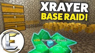 Found AN XRAYER Base WITH Admin Items So I Raid IT On Minecraft Factions Server