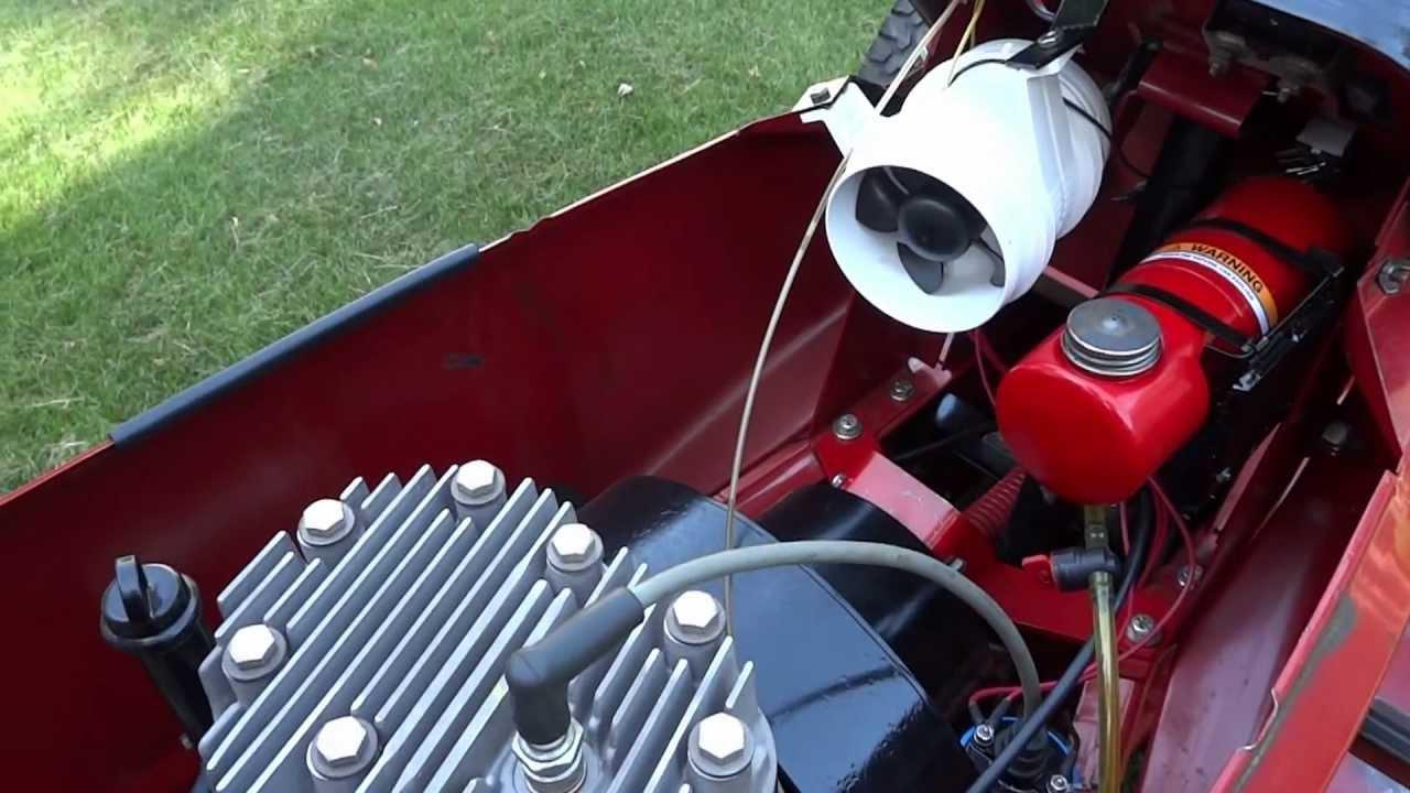 Cub Cadet Pulling Vintage Kohler Engine Kohler K330