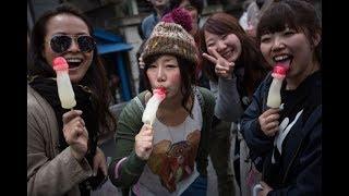 ये घिनौनी चीज़े खाते हैं चीन वाले देखना मत - Chinese Street Food Facts / In Facts