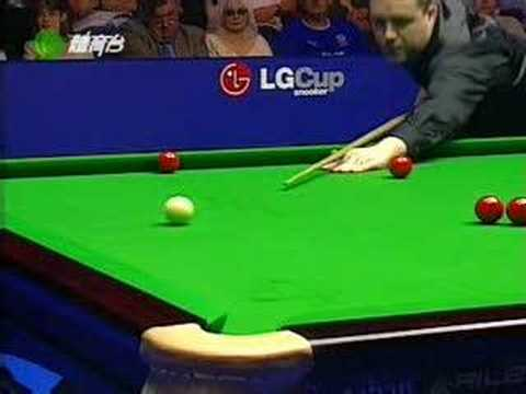 Snooker: John Higgins 147 in 2003 LG cup Video