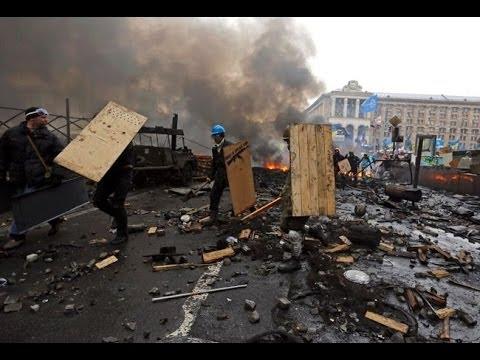 Death Toll Rises in Ukraine, Fresh Warnings of Civil War