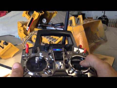Rc bulldozer hydraulics explained