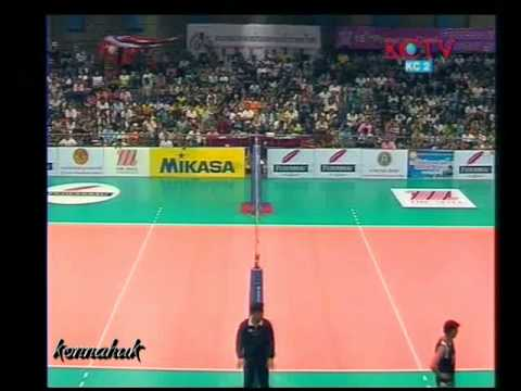 Thailand Vs Kazakhstan' Final '2010 Prinsess Cup-Women's Volleyball ' Part 7
