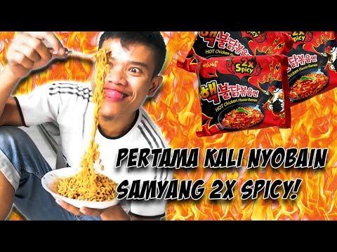 Ngerjain Fakih Makan Samyang 2X Spicy! WKWK