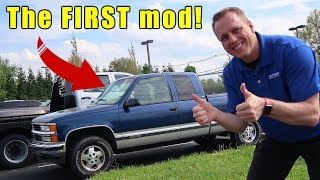 The first CHEAP mod EVERY truck owner should  do when they buy a new truck.  Best Truck mods.