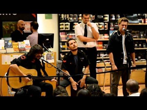 "I Ministri - ""Cultura Generale"" (Acoustic) live @ LaFeltrinelli Bari, 25/09/2015"