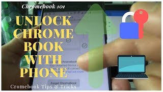 How to Unlock Chromebook with Your Smartphone | Chromebook 101 Tips & Tricks