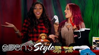 Sasha Banks joins Eden for her 2015 Holiday Gift Guide: Eden's Style
