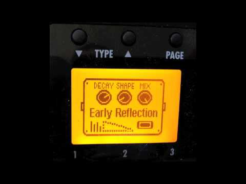 Zoom G3 Early Reflection 'My Bloody Valentine' guitar tone