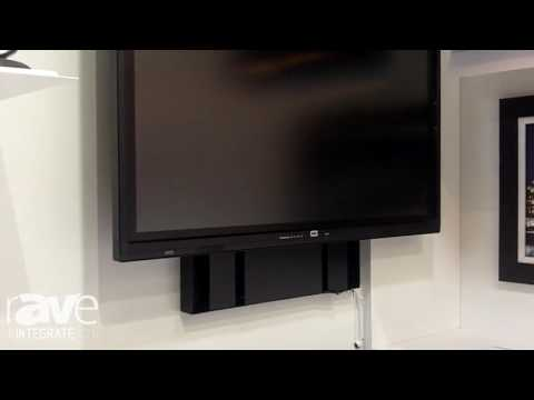 Integrate 2016: Ultralift Australia Features Touchscreen Wall Lift for Education