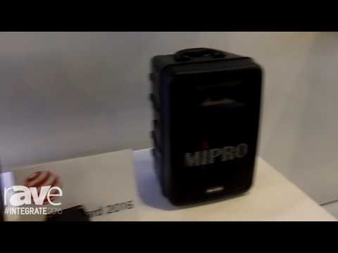Integrate 2016: Mipro Features Portable Bluetooth PA Systems on the Hills AV Stand